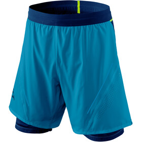 Dynafit Alpine Pro 2-in-1 Shorts Heren, mykonos blue